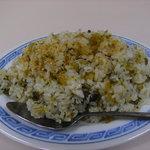 12967793 - ランチタイムBセットの高菜飯。