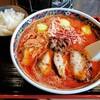 備長炭焼肉 てんてん - 料理写真:炙豚トロチャーシュー担々麺(小ライス付) 980円