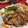 千里飯店 - 料理写真:豚スライス肉特製ソースかけ