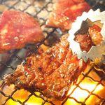 焼肉洞 - 国産和牛カルビ