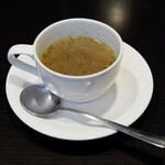 銀座 海老料理&和牛レストラン マダムシュリンプグレイス東京 - コンソメスープ