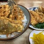豊野丼 - 鰧天丼