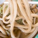 桜井うどん - うどんの麺