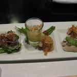 中国料理 星華 - 前菜盛り合わせ