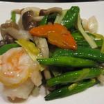 中国料理 星華 - 海鮮料理 ホタテ、海老、イカ