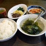 1297637 - 「ホルモン定食」1155円