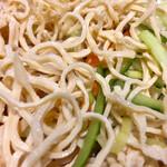 蓬溪閣 - 豆腐自体は変わりなく味わいに一体感が出ます