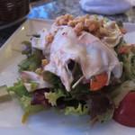 ATU190 - アンチョビでマリネした生湯葉と10品目野菜のサラダ(\800-)