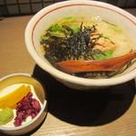 魚豊 - 鮭茶漬け(\480-)