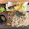 あゆ見荘 - 料理写真:あゆ見荘@余市 鮎天ざるそば(1300円)