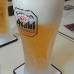 Aプラス - 生ビール(中) 600円