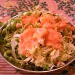 スバ - セットのサラダ