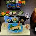 角甚 - 料理写真:夕食