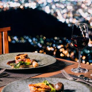 五感で豊かに味わう、もいわ山だけの特別な料理を