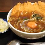 そば処 まる栄 - カツカレー丼の小