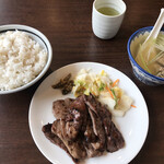 牛たん 太助 - 牛たん定食 一人前半(1,850円)
