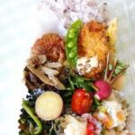 インディ庵 - 料理写真:この日のお弁当。