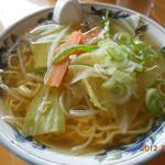 赤胴ラーメン - 塩 野菜ラーメン