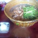 そば切り 蔦屋 - 芹ときざみ蕎麦