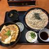 そば処 武蔵 - 料理写真:かつ丼ざるセット