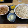 そば ほし乃家 - 料理写真:豚丼セット850円
