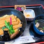 旬処 いさ路 - 煮穴子丼1,300円