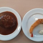 アララ - 別々のお皿でメイン料理♬