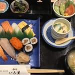 Wadokoroirori - 寿司定食=1000円 税込