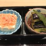 Wadokoroirori - 小鉢の2品