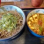 ボンサイ - 限定 麻婆豆腐つけ蕎麦