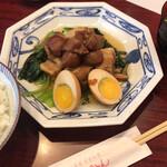 中華風家庭料理 ふーみん - ふーみん(豚肉の梅干煮定食)