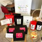 ソレイユカフェ - プリンセスシンデレラプロデュースの3種類のお茶販売中