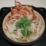 星のうどん - 野菜天うどん 400円
