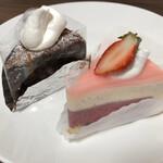 129747519 - 2020.4.19  本日のケーキとガトーショコラ