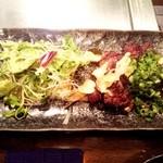 鉄板焼き しんご - 和牛ハラミ(100g) \1,500
