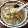 特麺コツ一丁ラーメン - 料理写真:ラーメン 麺半分 ニンニクありで