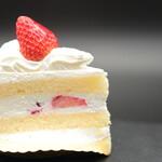 グランマ - 料理写真:ショートケーキ。