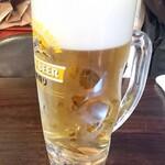 ぶえんもゆかり - 生ビール