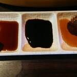 ぶえんもゆかり - 醤油3種類