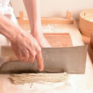 技術が生み出す蕎麦