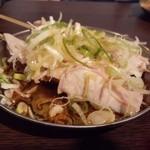 四文屋 - 2012.5 ガツ刺(1串100円)