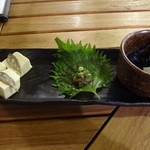 みやら - 沖縄珍味三種盛り:525円