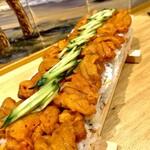 きんとと - 一折雲丹の押し寿司(要予約)