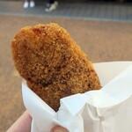 肉のすずき - ・「元気メンチ(¥250)」