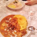 ベビーフェイス プラネッツ - 皿の大きさ比較w