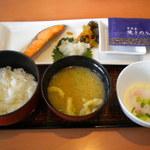 デニーズ - 料理写真:焼鮭定食