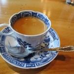 さが風土館 博多季楽 - 最後の飲み物はコーヒーを選んで友人の婚約を祝うこの日の嬉しいランチは終了です。
