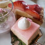 岩崎台倶楽部 グラスグラス - 桜のムース