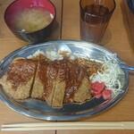 焼肉ここから - 牛カツライス¥750-