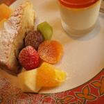 うさぎの小屋 - ランチコース デザート